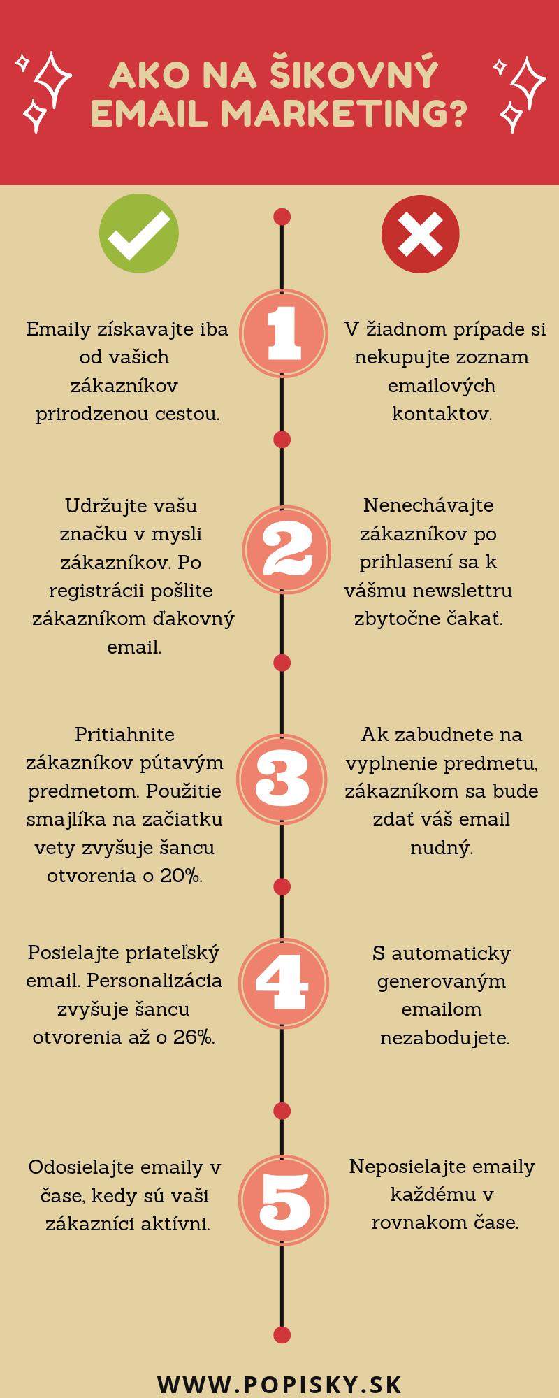5 email - marketingových tipov